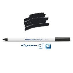 Marqueur textile Noir pointe 1 mm