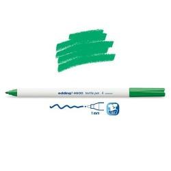 Marqueur textile Vert pointe 1 mm