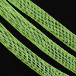 Résille tubulaire Verte claire, 8 mm ø - au mètre