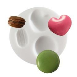 Mini moule silicone Macarons