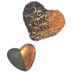 Poudre métal Bronze pour pâte Fimo