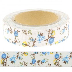 Masking Tape liberty bleu - 15 mm x 4 m