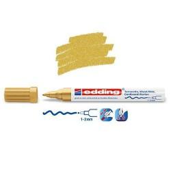 Marqueur satin mat pour surfaces poreuses, Or pointe 1-2 mm