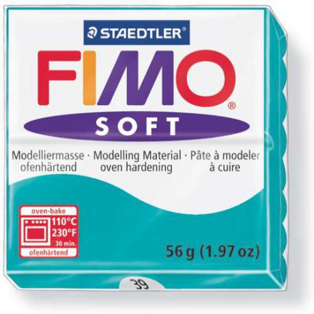 Fimo Soft Menthe 39 - 56 gr
