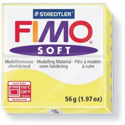 Fimo Soft Citron 10 - 57 gr