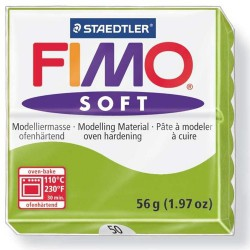 Pate Fimo Soft Vert Pomme 50 - 57 gr