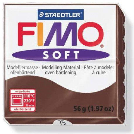 Fimo Soft Chocolat 75 - 57 gr