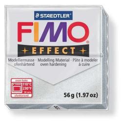 Fimo Effect 81 Argent Métallique - 57 gr
