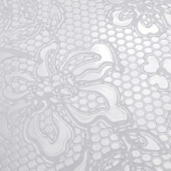 Plaque de texture Dentelles 20 x 13 cm