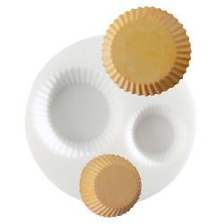 Mini moule silicone Cupcakes