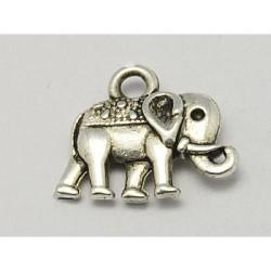 Pendentif breloque en métal Eléphant