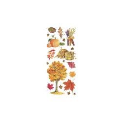 Stickers autocollants Feuilles d'automne