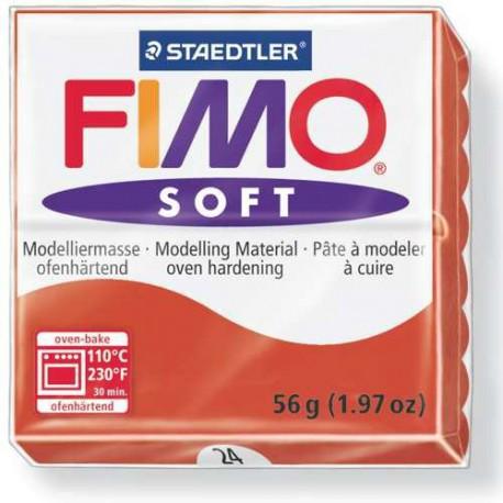 Fimo Soft Rouge Indien 24 - 57 gr