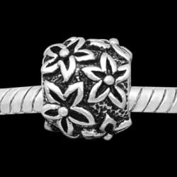 Métal Anneau edelweiss style Pandora - à l'unité