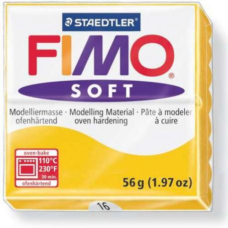 Fimo Soft Jaune Soleil 16 - 57 gr