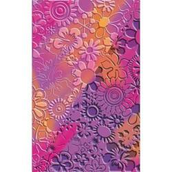 Plaque de texture Fleurs 20 x 13 cm