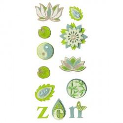 Assortiment 10 formes feutrine Zen