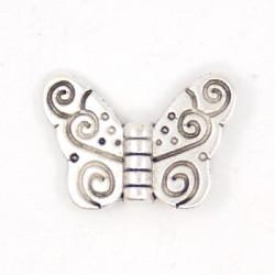 Perle de métal papillon