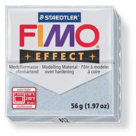 Fimo Effect 812 Argent Métallique - 57 gr