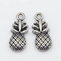 Pendentif breloque en métal Ananas