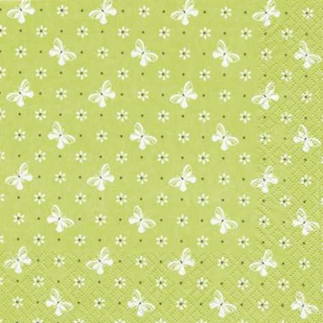 Serviettes en papier Reve du printemps
