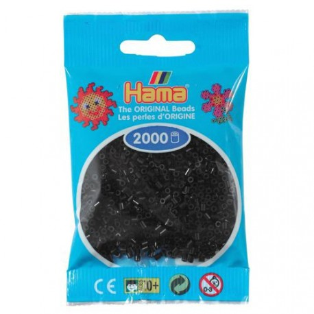 Sachet 2000 Perles Hama Mini - Noir