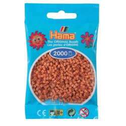 Sachet 2000 Perles Hama Mini - Marron clair