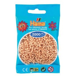 Sachet 2000 Perles Hama Mini - Beige