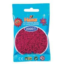 Sachet 2000 Perles Hama Mini - Rouge Lie de vin