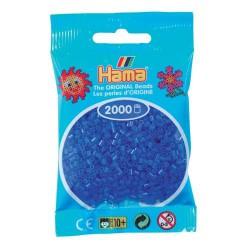 Sachet 2000 Perles Hama Mini - Bleu fluorescent