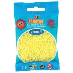 Sachet 2000 Perles Hama Mini - Jaune pastel