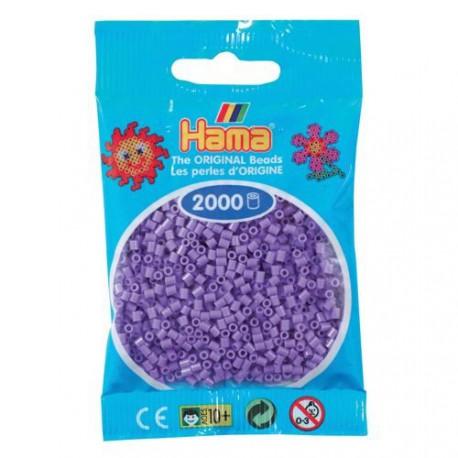 Sachet 2000 Perles Hama Mini - Violet pastel
