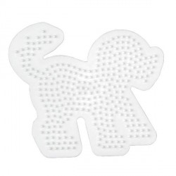 Plaque perles à repasser Hama Midi - Chien Grand modèle