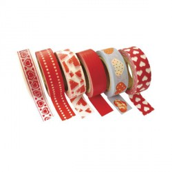 6 Masking Tape Amour - 15 mm x 10 m