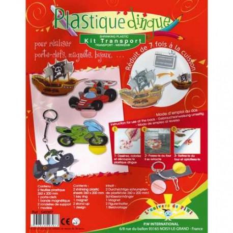 Kit Plastique fou Les Transports