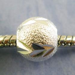 Métal perle Stardust fléchée style Pandora - à l'unité