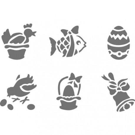 Pochoir plastique paques - Pochoir cuisine a imprimer ...