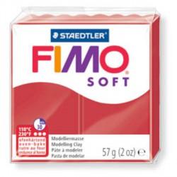 Fimo Soft Rouge Noël 8020-2 P - 57 gr