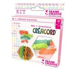 Kit 3 Bracelets Créacord Tropique