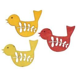 Oiseaux Miniatures en bois