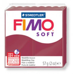 Fimo Soft Rouge merlot 23 - 57 gr