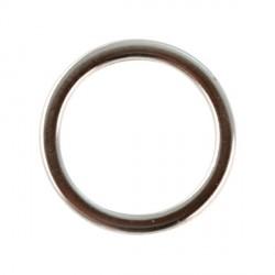 Anneau en métal pour bijoux - 15 mm