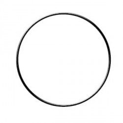 Cercle nu en cuivre - 10 cm