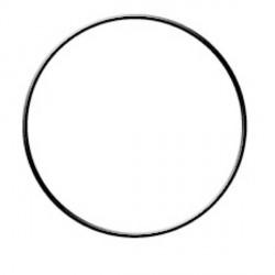 Cercle nu en cuivre - 15 cm