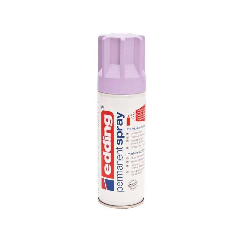 Edding permanent spray peinture lavande mat 200 ml for Peinture couleur lavande