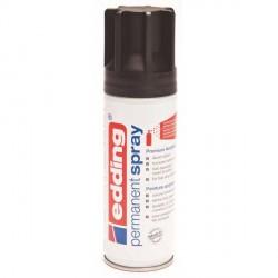 Edding Permanent Spray peinture Noir profond, mat - 200 ml