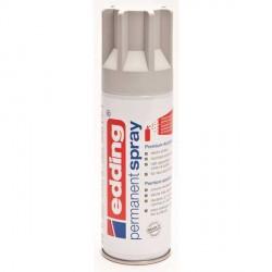 Edding Permanent Spray peinture Gris clair, mat - 200 ml