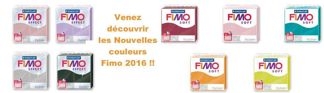 Les 9 nouvelles couleurs Fimo 2016 !