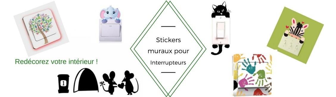 Stickers Interrupteurs