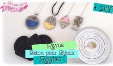 Les bijoux avec le béton pour bijoux et les moules de chez Rayher
